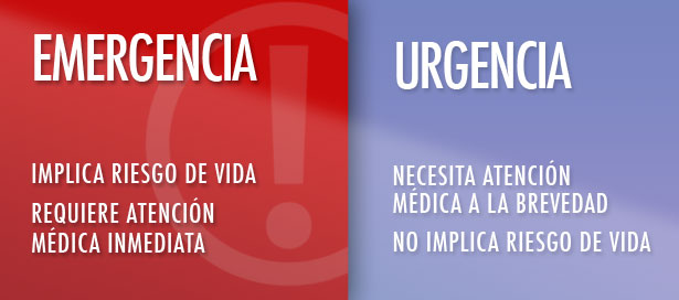 Resultado de imagen para urgencia y emergencia